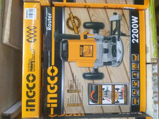 Ingco 2200watts Wood Router image 1