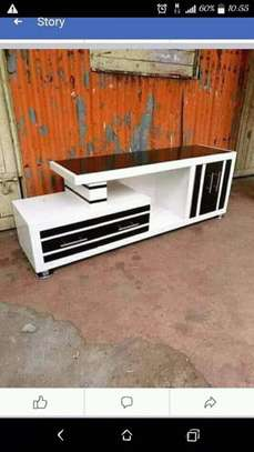 Classic Smooth Wooden TV Stand