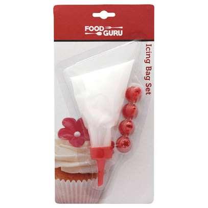10 pcs Nozzles plastic piping bag image 1
