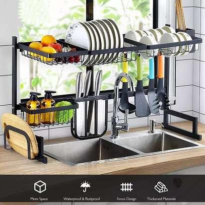 Fashion Kitchen Dish Drying Rack Over Sink - Big Size 85cm image 1