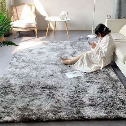 GENERIC SOFT FLUFFY PATCHED CARPETS image 1