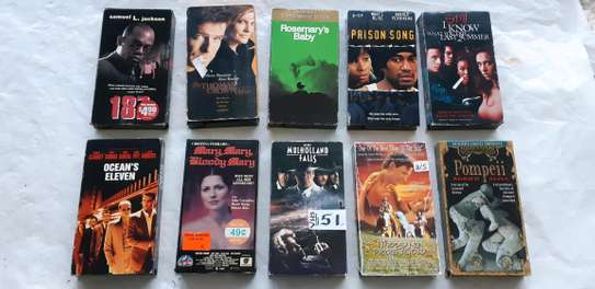 ORIGINAL USED DVDS MOVIES AND VHS MOVIES CASSETTES. image 4