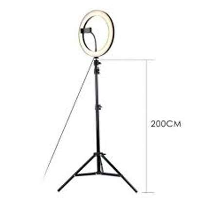 10 Inches Ring Light Kit with Tripod Stand & Phone Holder image 3