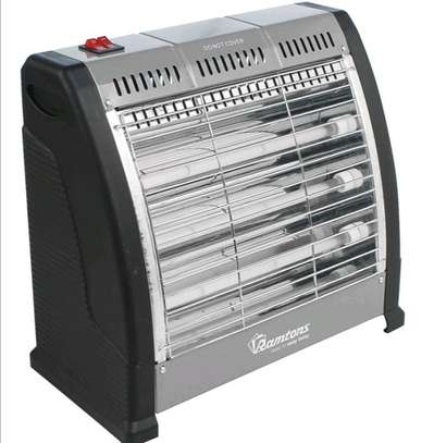 Ramtons RM/469 Electric Bar Quartz Heater, Black & Silver image 3