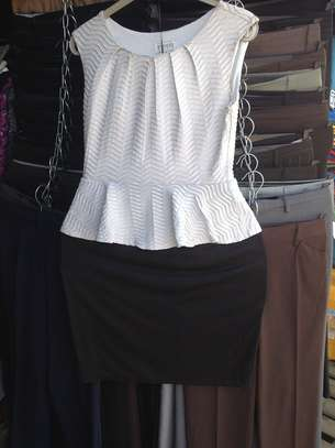 Peplum Dress image 1