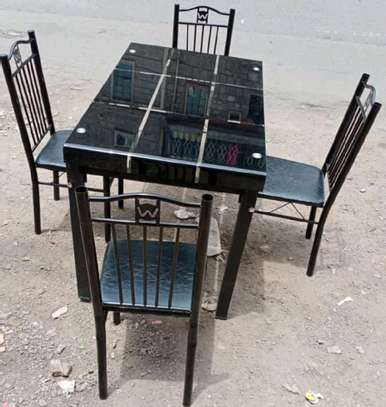 Professional factory four seaters dining table