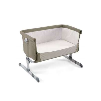 "Side Sleeping Crib Next2Me ""Dove Grey"" Baby Crib Next 2 Me, baby bed,baby cot. image 3"
