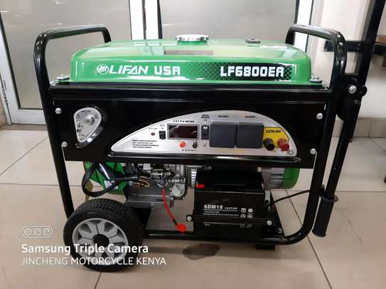 New 6.8KVA Lifan USA Generator with ATS