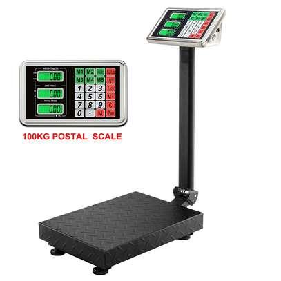 Parcel Platform Scales UK Plug 100KG/220lbs image 1