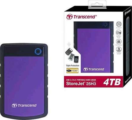 Transcend 4TB StoreJet 25H3 External Hard Drive image 2