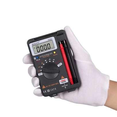VC921 Anti burn Electrician Repair Pocket Mini Digital Multimeter image 1