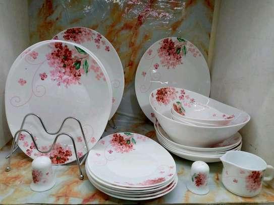 *30 pcs oval shaped dinner set image 1