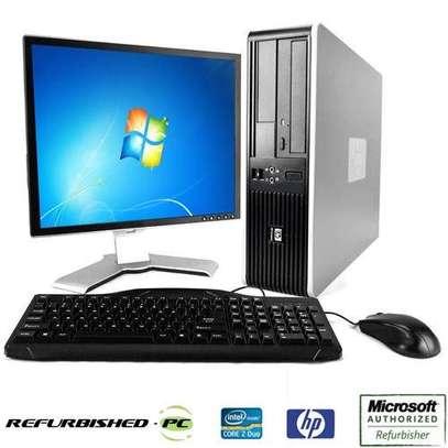 "Hp Computer core 2 duo 2.8ghz/160gb/2gb/17"" screen image 2"