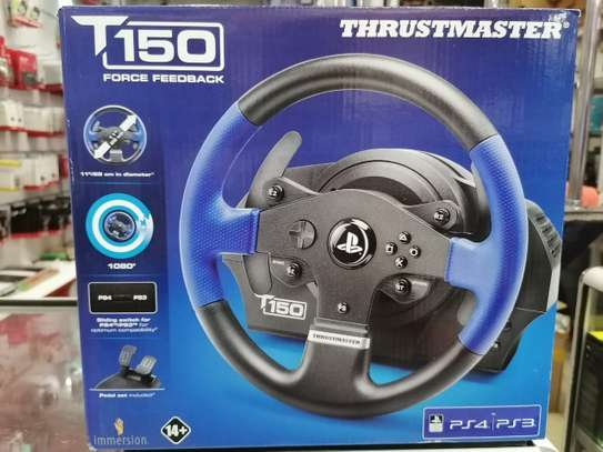 Thrustmaster T150 RS Racing Wheel for PlayStation4, PlayStation3 image 2
