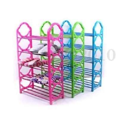 Portable Shoe Rack - Blue - 1