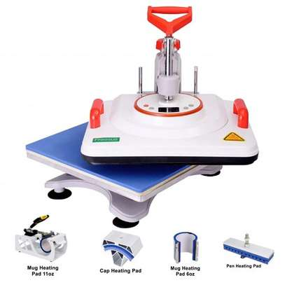 5 in 1 Combo Machine for Press image 1