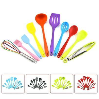 10pc Silicone Spoons Set