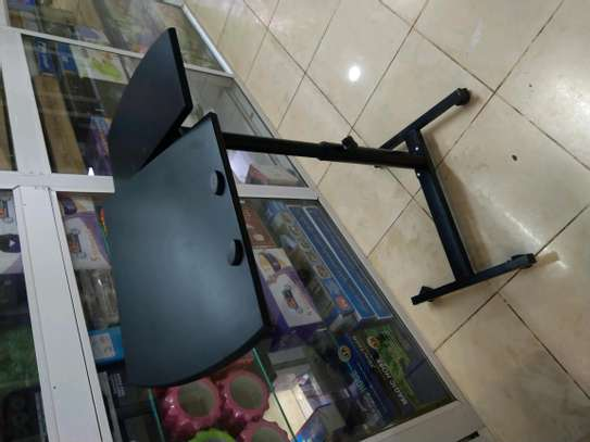Moveable Sit Stand Adjustable Laptop Table image 3