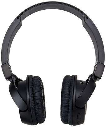 JBL T450BT Wireless On-Ear Headphones with Built-in Remote and Microphone (Black) image 2
