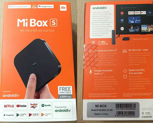Xiaomi Mi Box S With 4K HDR Android TV Streaming Device image 2