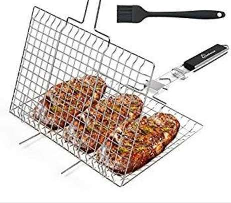 BBQ Barbecue Stainless Steel Mesh image 2