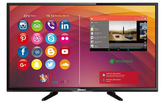 new 32 inch nobel smart android tv cbd shop call now image 1