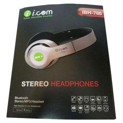 Icom Supper Bass Bluetooth Headphones Wireless Stereo/MP3/FmRadio image 1