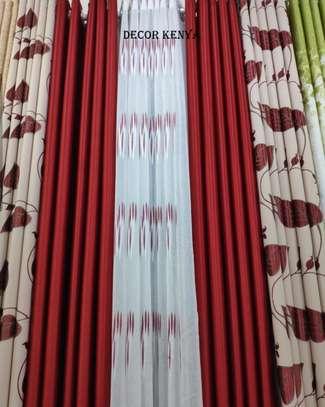DECOR KENYA PLAIN CURTAINS image 1