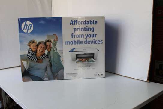 HP DeskJet 2630 Wireless All-In-One Colored PrinteR image 1