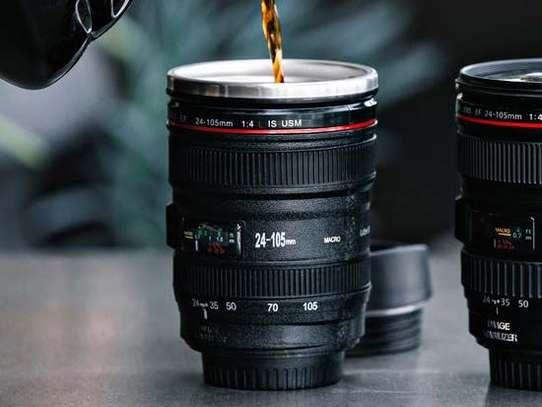 Camera Lens Coffee Cup, Travel Mug image 2