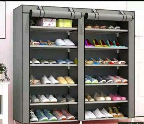 Shoe Cabinet, 2 Column 6 Rows, Shoe Rack image 3