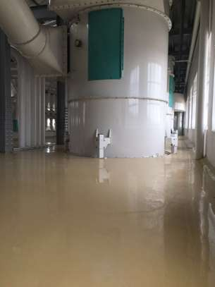 Fossilcote Floor installation for Ajabu Flour Mill Co. image 3