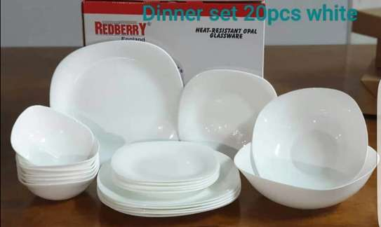 20PCS DINNER SET REDBERRY image 1
