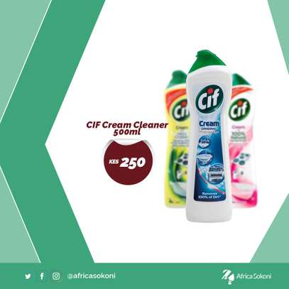 CIF Cream Cleaner 500ml image 1