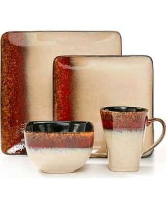 24 ceramic dinner set image 3