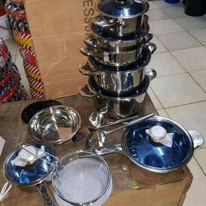 25pc Harraz stainless Induction Cookerware image 2