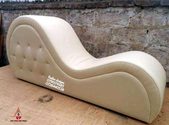 Tantra sofas/white tufted sofas image 1