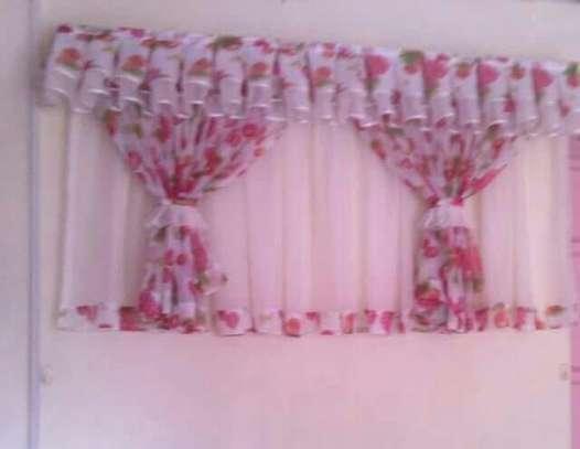 Beautiful kitchen curtains image 11