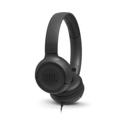 JBL Tune 500 Powerful Bass On-Ear Headphones with Mic image 1