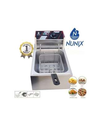 Commercial Stainless Steel Electric Deep Fryer With Basket image 2
