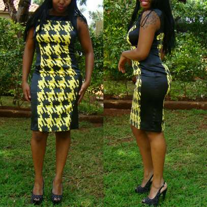 Houndstooth Pattern Dresses From UK