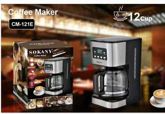 Digital coffee machine image 1