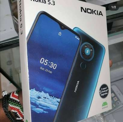 "Nokia 5.3, 6.55"", 6GB+64GB, 13MP Rear +8MP Selfie, 4G (Dual Sim) - 4000MAh - image 1"
