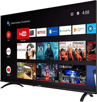 Skyworth 43 inches frameless smart android tv!!!!!
