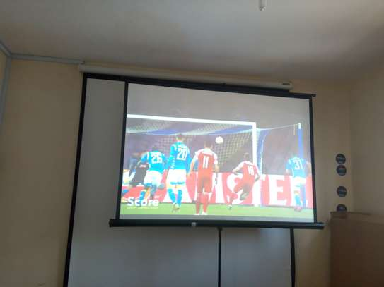 Projection Screens for Hire