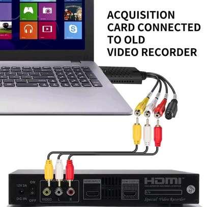 USB 2.0 Easy Cap Video VHS TV DVD DVR Video Capture Adapter image 2