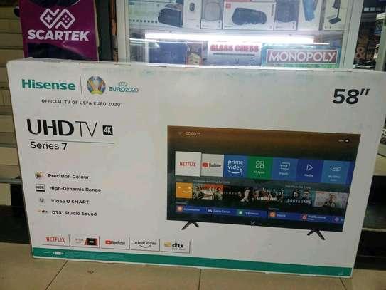 Hisense 58 Smart Tv image 1