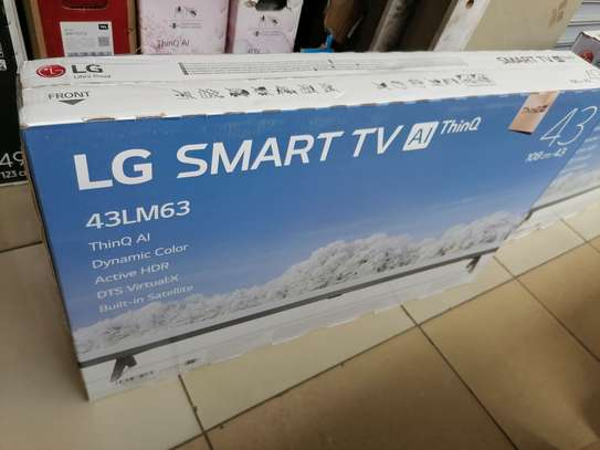 Brand new 43 inch LG smart led TV image 1