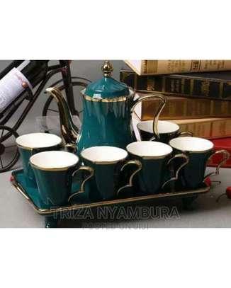 8pcs Classy Tea Set image 1