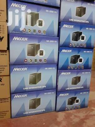MECER 1KVA(1000VA) Line Interactive UPS Black image 2
